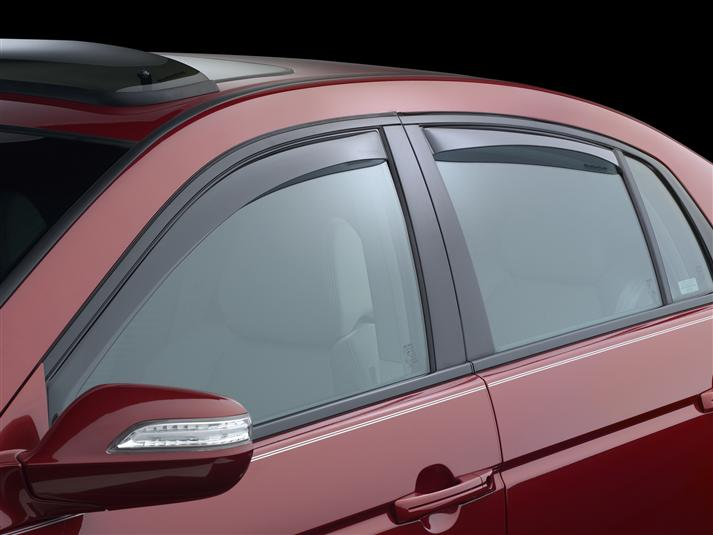 WeatherTech Light Side Window Deflectors - WeatherTech 72350