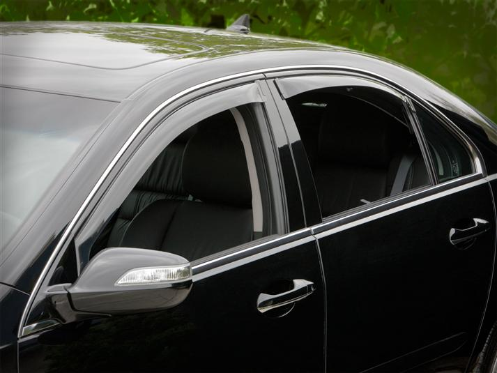 WeatherTech Light Side Window Deflectors - WeatherTech 72368