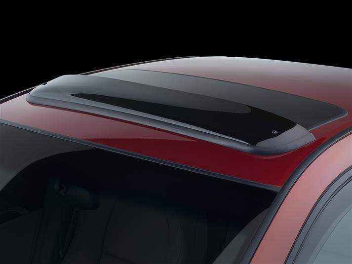WeatherTech Dark Smoke Sunroof Window Deflector - WeatherTech 89034