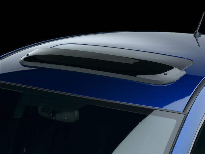 WeatherTech Dark Smoke Sunroof Window Deflector - WeatherTech 89155