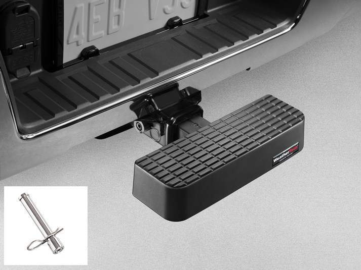 WeatherTech BumpStep with Stainless Hitch Pin - WeatherTech 8A3BSWHP3