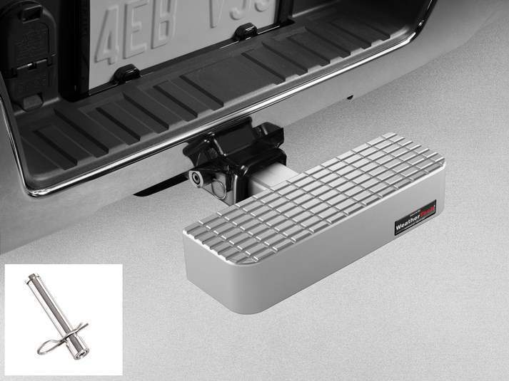 WeatherTech Billet BumpStep with Stainless Hitch Pin - WeatherTech 8A4HSWHP4