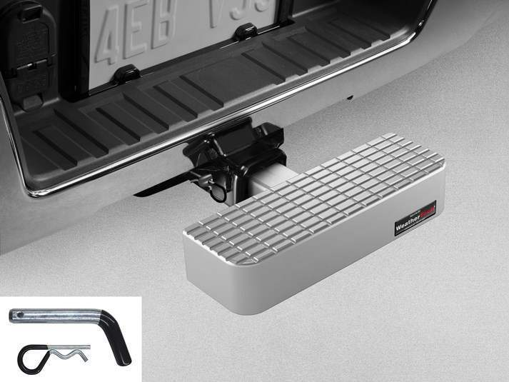 WeatherTech Billet BumpStep with Hitch Pin - WeatherTech 8AHS2WHP1