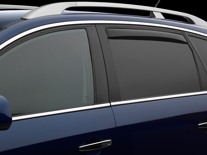 WeatherTech Dark Side Window Deflectors - WeatherTech 81350
