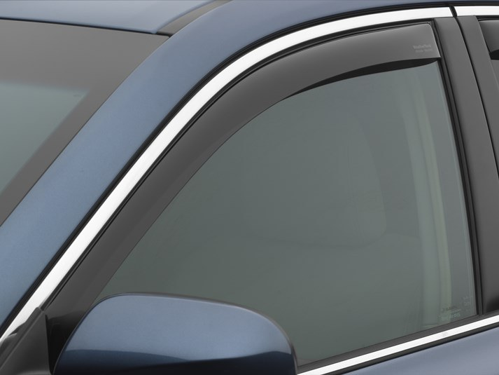 WeatherTech Dark Side Window Deflectors - WeatherTech 80516