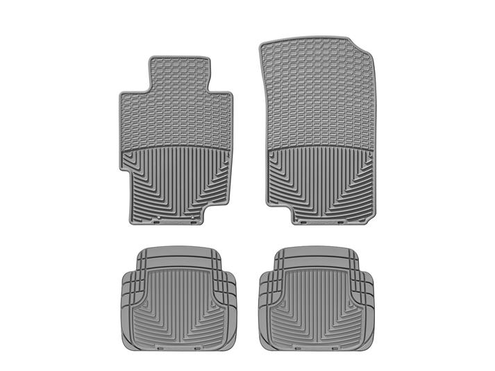 WeatherTech All-Weather Floor Mats - WeatherTech W58GR-W50GR