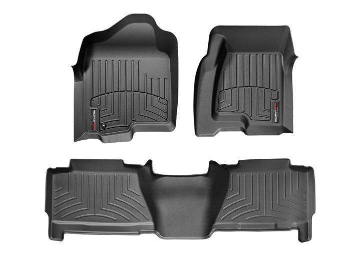 WeatherTech DigitalFit Floor Liners - WeatherTech 440031-440612