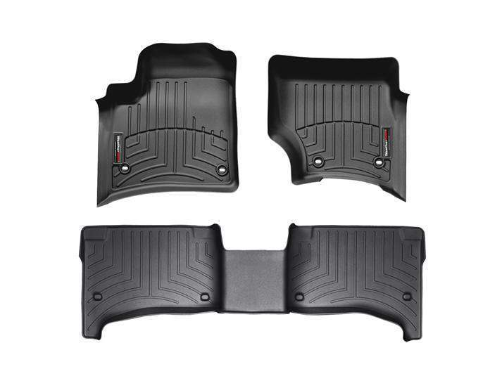 WeatherTech DigitalFit Floor Liners - WeatherTech 44045-1-2