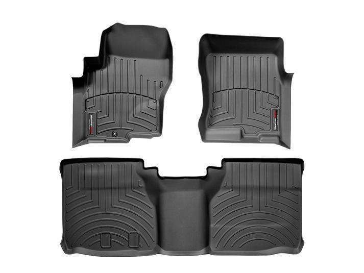 WeatherTech DigitalFit Floor Liners - WeatherTech 44047-1-2
