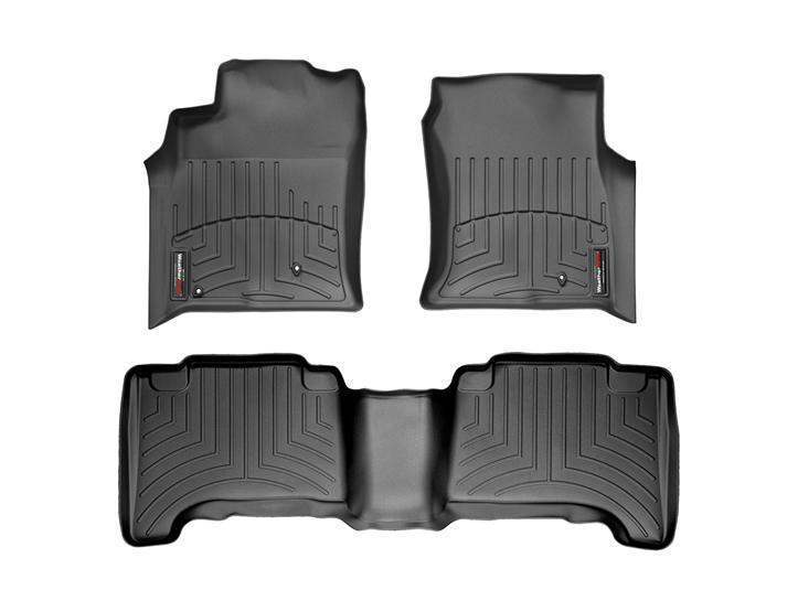 WeatherTech DigitalFit Floor Liners - WeatherTech 441211-440702