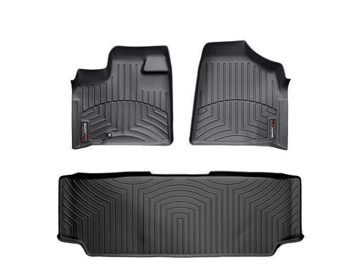 WeatherTech DigitalFit Floor Liners - WeatherTech 441411-440272