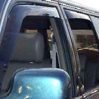 WeatherTech Light Side Window Deflectors - WeatherTech 72001