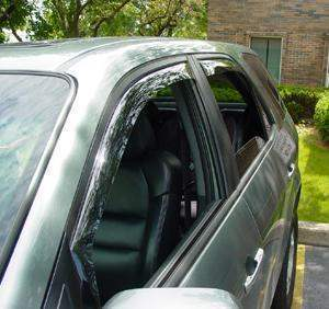 WeatherTech Light Side Window Deflectors - WeatherTech 72275