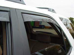 WeatherTech Dark Side Window Deflectors - WeatherTech 81275