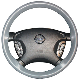 Wheelskins Original One-Color Leather Steering Wheel Cover - Wheelskins ORG-1