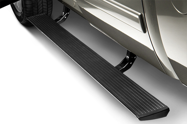 "AMP Research 6.25"" PowerStep Cab Length Black Running Boards - AMP Research 76254-01A"