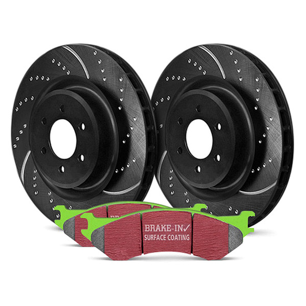 EBC S3 Kits - GreenStuff and GD Rotors
