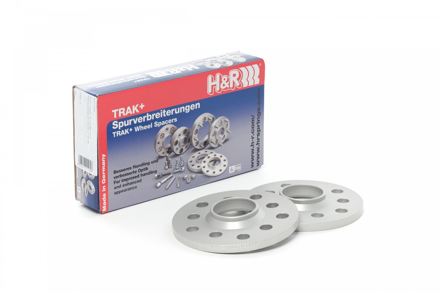 H&R TRAK+ DR Series Wheel Hub Adapters - Pair - H&R 1055571665