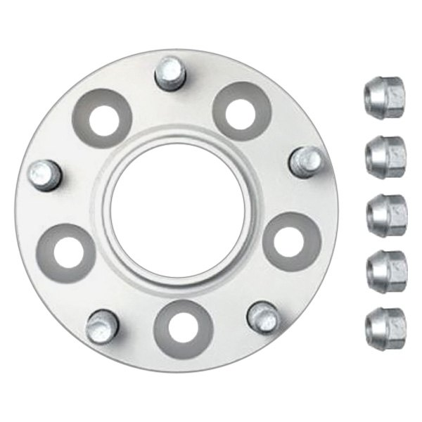 H&R Silver TRAK+ DRM Series 50mm Wheel Spacers - Pair - H&R 100166871