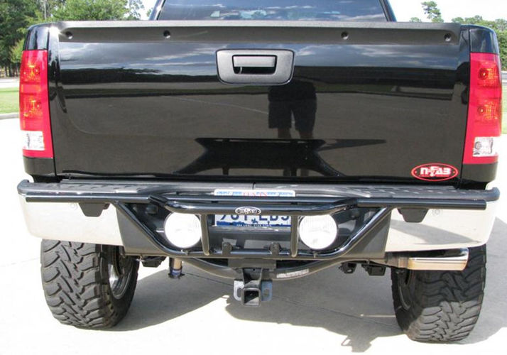 n-Fab Rear-Runner Light Bar With Tabs