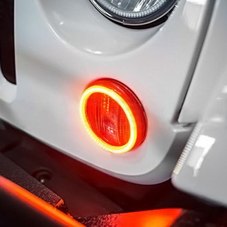 Oracle Lighting SMD ColorSHIFT Waterproof Halo Kit for Fog Lights - Oracle Lighting 1270-333
