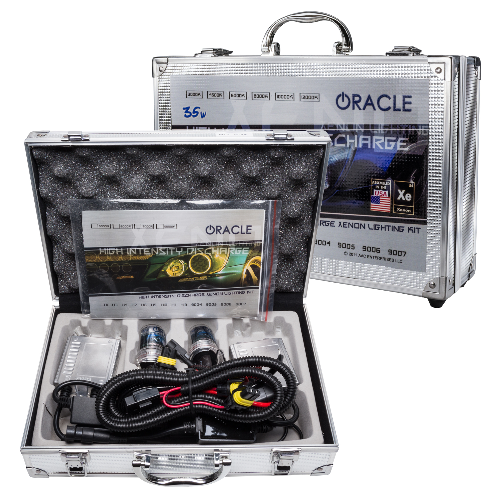 Oracle Lighting H3 35W Xenon HID Kit - 8000K - Oracle Lighting 0003-014