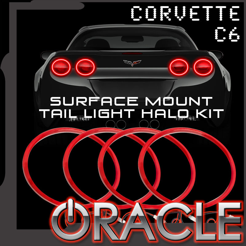 Oracle Lighting SMD Red Waterproof Afterburner Kit for Tail Lights - Oracle Lighting 1295-003