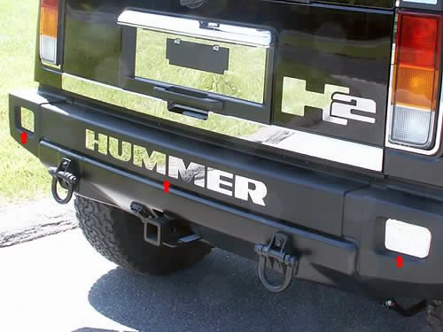 QAA Chrome Hummer Accessories