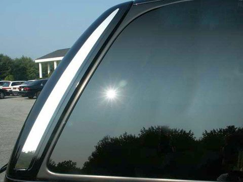 QAA Chrome Rear Window Trims
