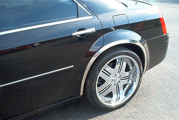 QMI Stainless Steel Fender Trim