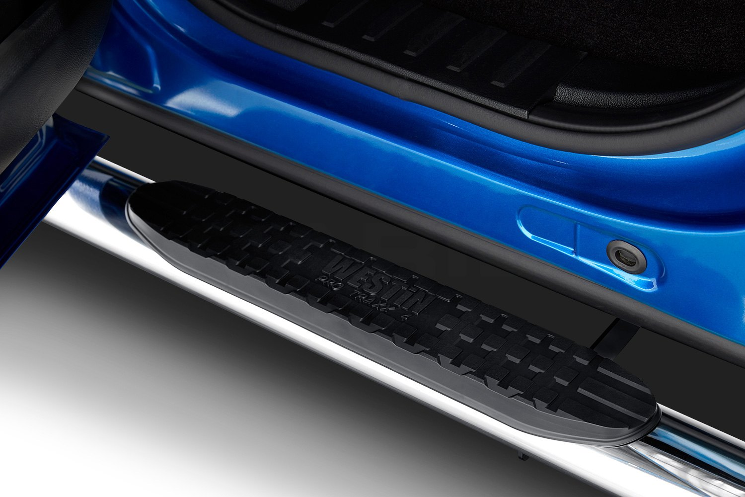 "Westin 4"" Pro Traxx Oval Tube Side Step Bars"